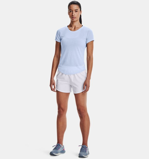 Womens UA Streaker Run Short Sleeve
